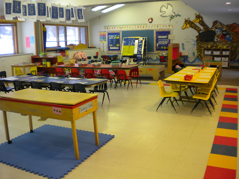 Classroom view 01: First Friends Christian Preschool