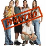 youth wanted
