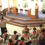FUMC Service Boy Scouts